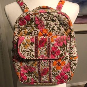 Vera Bradley backpack bag- smaller size like new